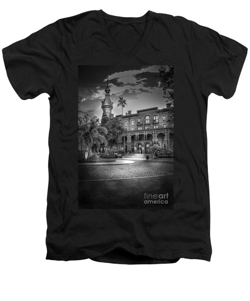 Main Entry Men's V-Neck T-Shirt by Marvin Spates