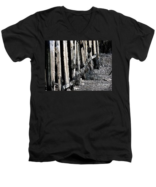 Maine Pier Men's V-Neck T-Shirt