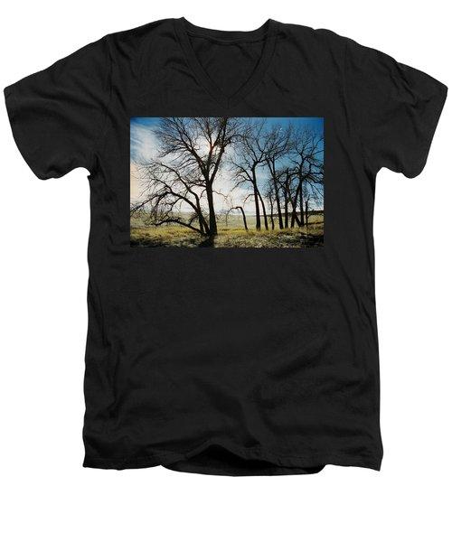 Make A Stand Men's V-Neck T-Shirt