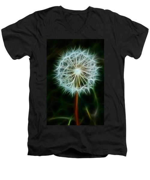 Make A Wish Men's V-Neck T-Shirt by Joann Copeland-Paul