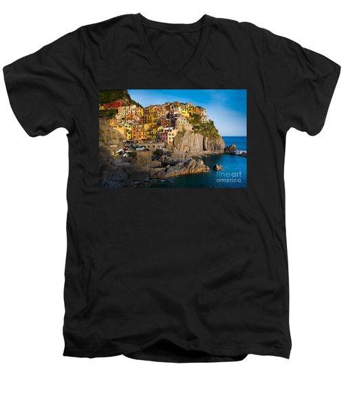 Manarola Men's V-Neck T-Shirt