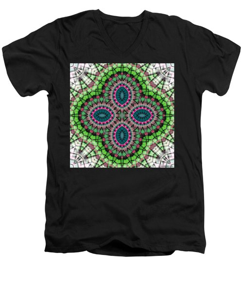 Mandala 111 Men's V-Neck T-Shirt