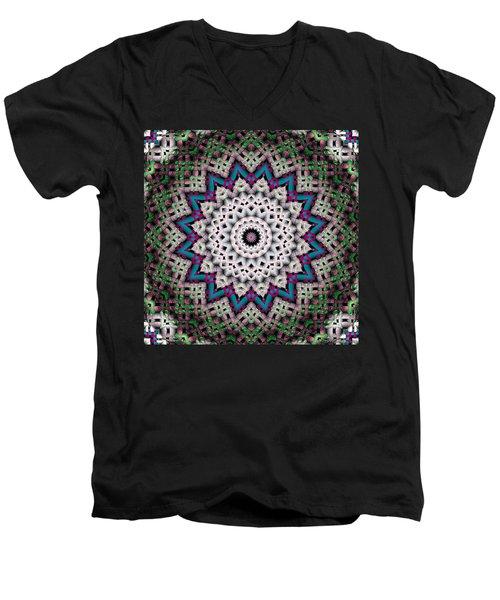 Mandala 37 Men's V-Neck T-Shirt