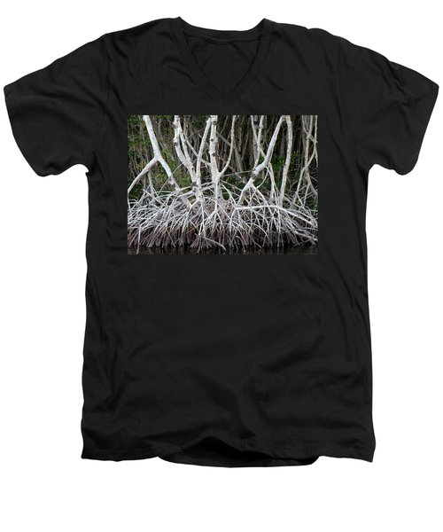 Mangrove Roots Men's V-Neck T-Shirt