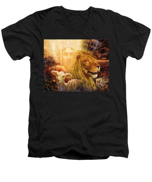 Manifold Majesty Men's V-Neck T-Shirt
