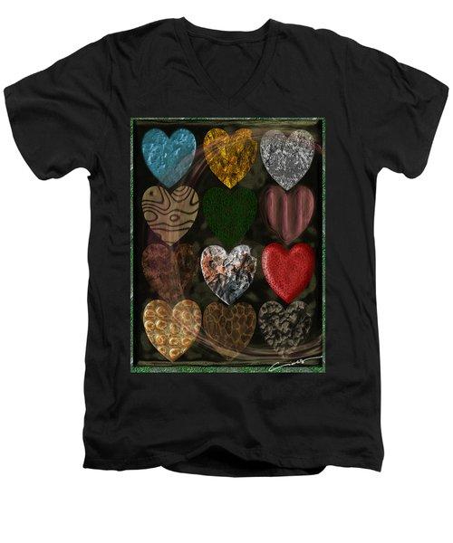 Many Types Of Love Men's V-Neck T-Shirt