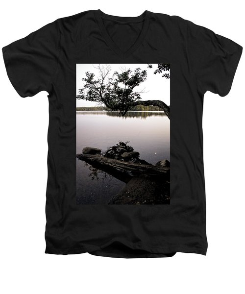 Marion Lake And The Moon Men's V-Neck T-Shirt