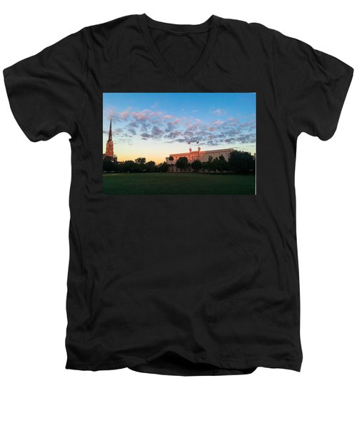Marion Square Sunrise Men's V-Neck T-Shirt