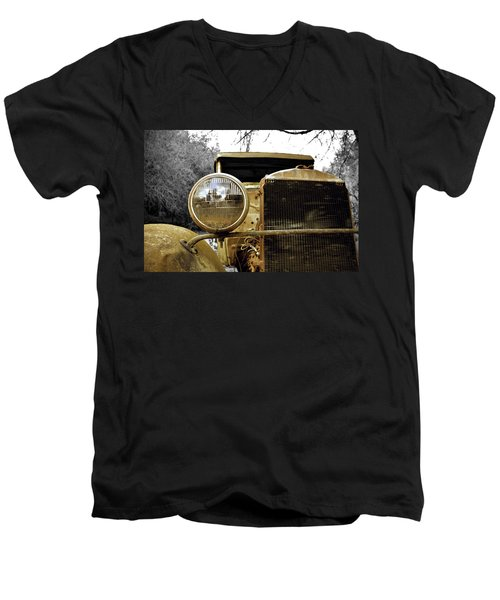 Marooned Men's V-Neck T-Shirt