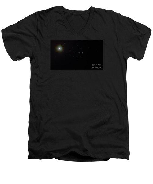 Mars Men's V-Neck T-Shirt by Joel Loftus