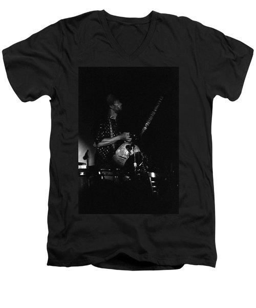 Marshall Allen Plays Strings  Men's V-Neck T-Shirt
