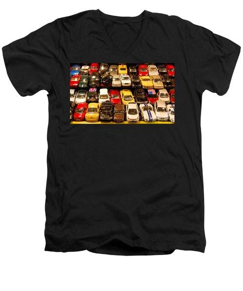 Allied Matchbox Cars  Men's V-Neck T-Shirt