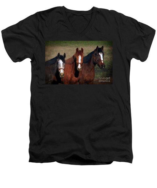 Mates Men's V-Neck T-Shirt
