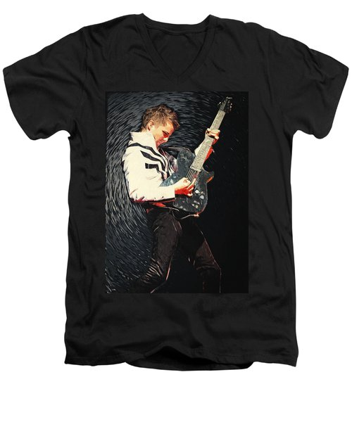 Matthew Bellamy Men's V-Neck T-Shirt