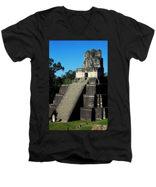 Mayan Ruins - Tikal Guatemala Men's V-Neck T-Shirt
