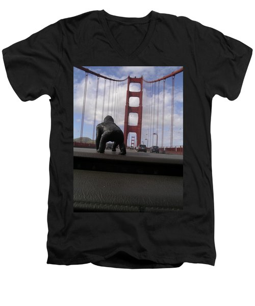 Mcgilla Gorilla Men's V-Neck T-Shirt