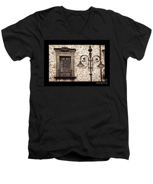 Medieval And Modern Men's V-Neck T-Shirt