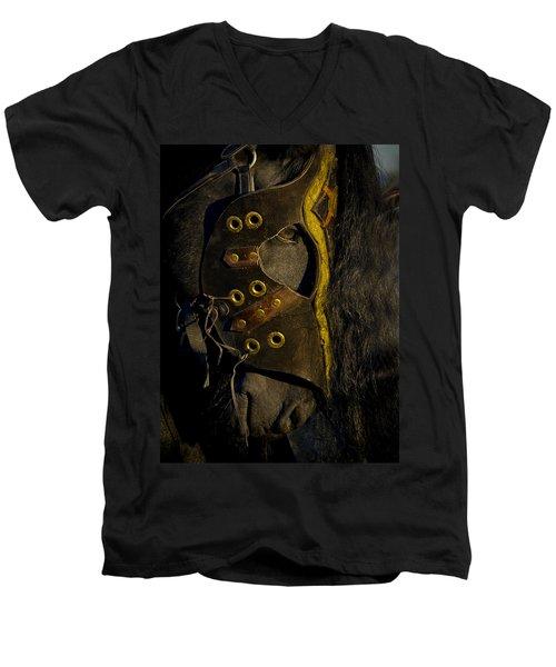 Medieval Stallion Men's V-Neck T-Shirt