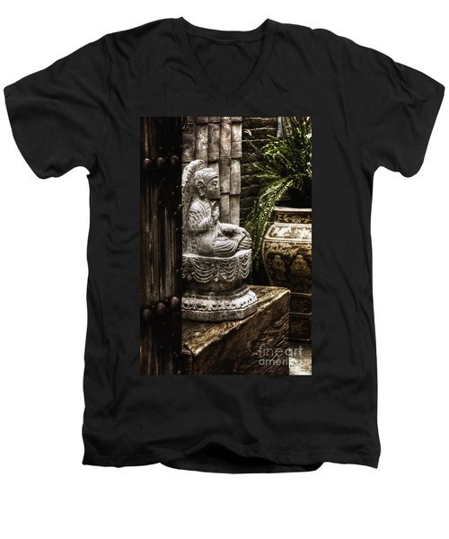 Meditation Men's V-Neck T-Shirt