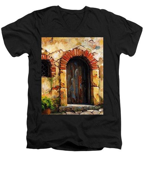 Mediterranean Portal 02 Men's V-Neck T-Shirt