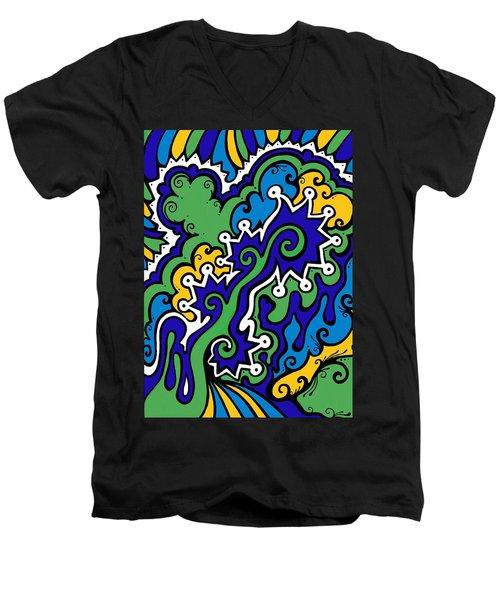 Mental Piracy Men's V-Neck T-Shirt