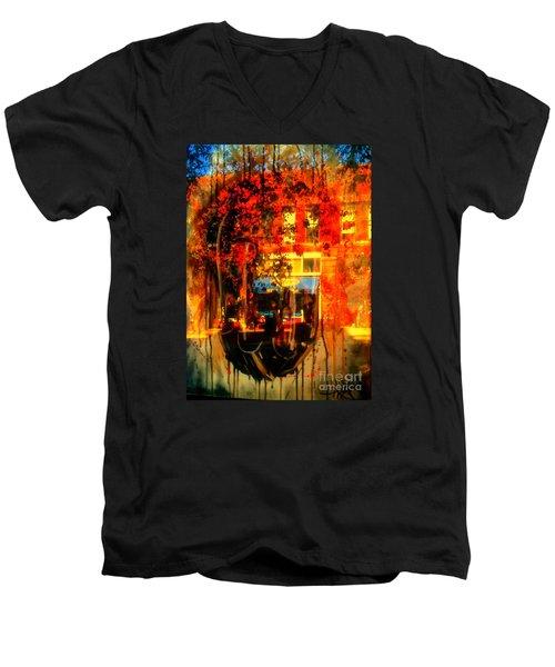 Mental Void Men's V-Neck T-Shirt by Kelly Awad