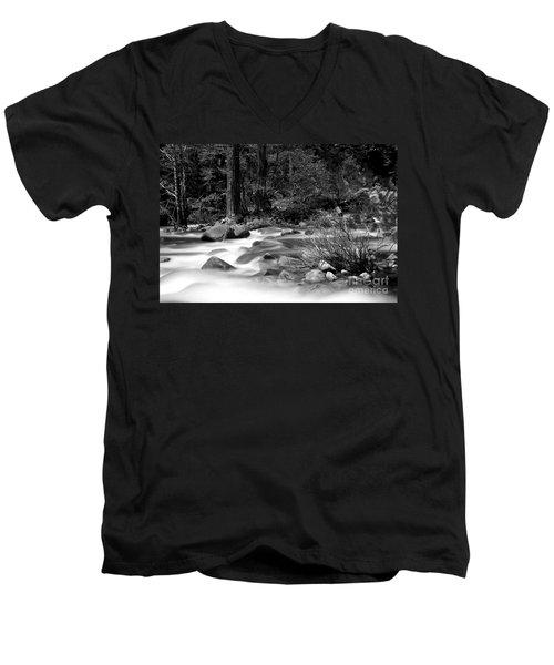 Merced River Men's V-Neck T-Shirt