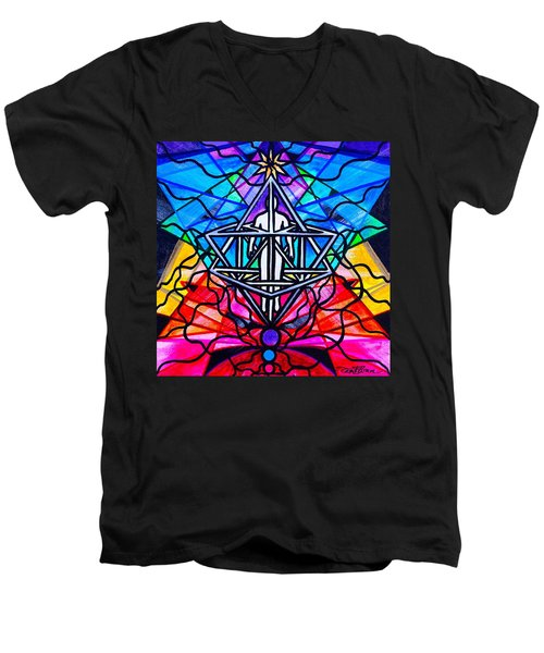 Merkabah Men's V-Neck T-Shirt