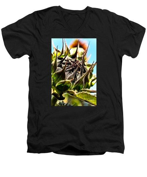 Mexican Sunflower Men's V-Neck T-Shirt