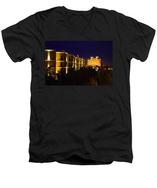 Mexico Nights Men's V-Neck T-Shirt