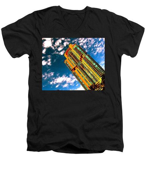 Miami South Pointe Highrise Men's V-Neck T-Shirt