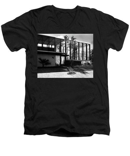 Michael Heller's Home In Miami Men's V-Neck T-Shirt