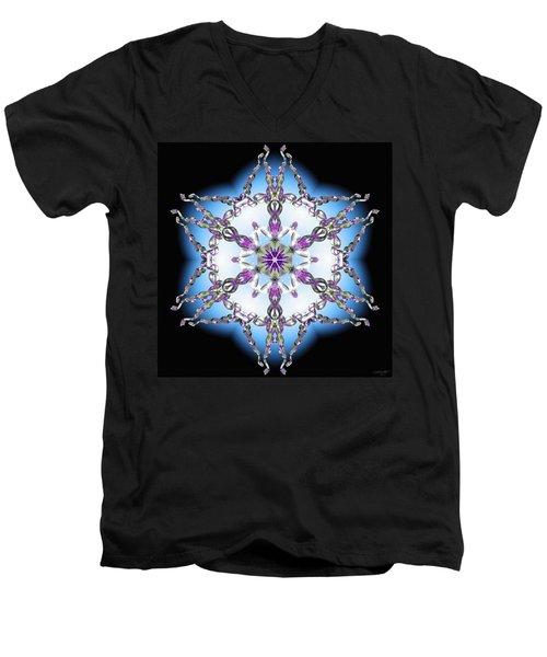 Midnight Galaxy IIi Men's V-Neck T-Shirt