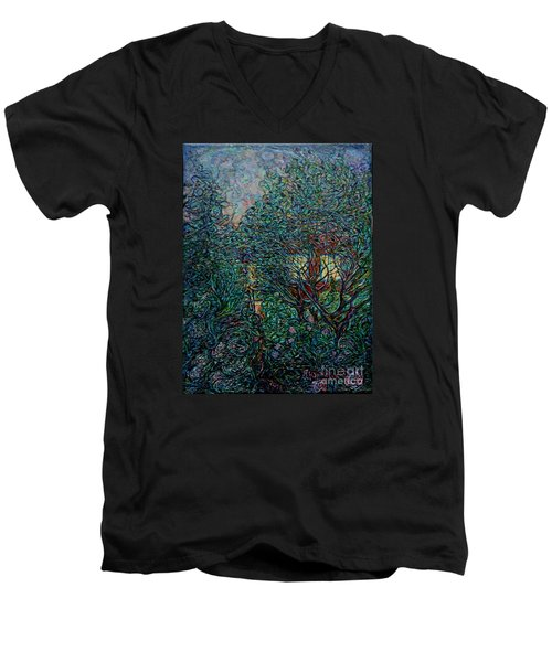 Midsummer Night Men's V-Neck T-Shirt