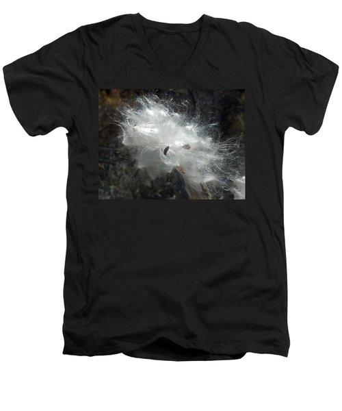 Milkweed Men's V-Neck T-Shirt