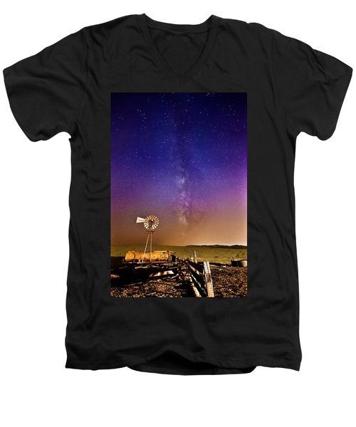 Milky Way Men's V-Neck T-Shirt