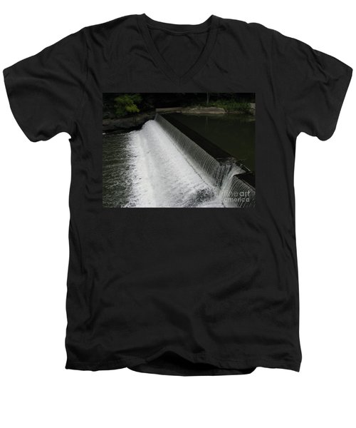 Mill On The River Men's V-Neck T-Shirt