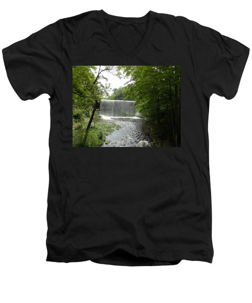 Mill River Men's V-Neck T-Shirt