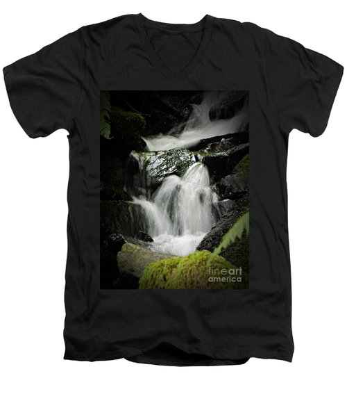Mini Waterfall 2 Men's V-Neck T-Shirt
