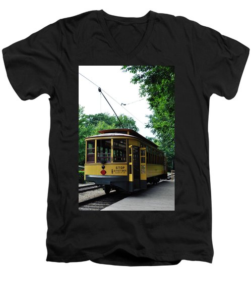 Minnesota Streetcar Museum Men's V-Neck T-Shirt