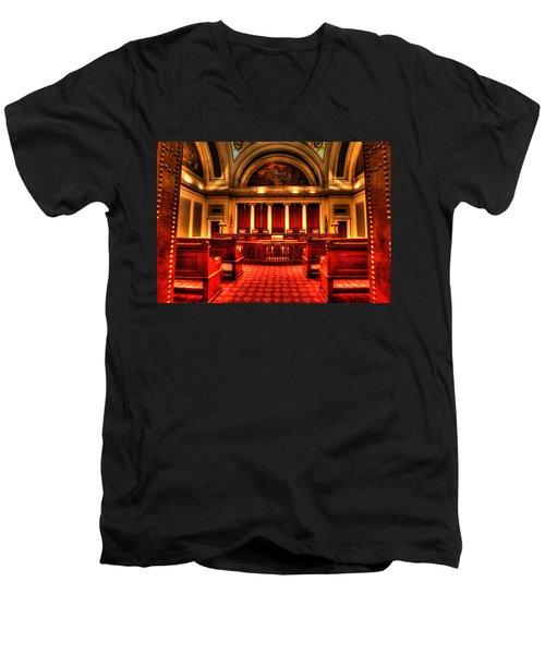 Minnesota Supreme Court Men's V-Neck T-Shirt