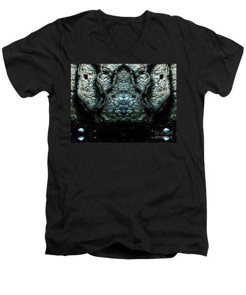 Mirror Mirror On The Wall Men's V-Neck T-Shirt by Andy Prendy