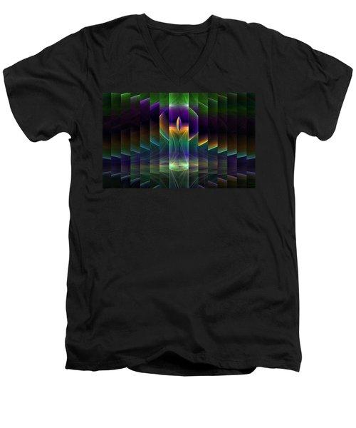 Mirrored Men's V-Neck T-Shirt
