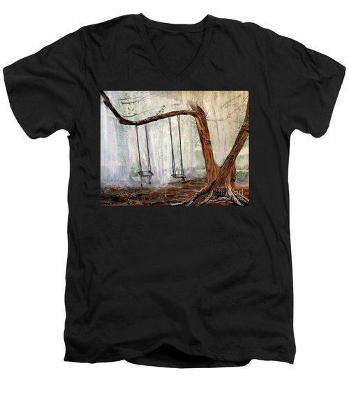 Missing Children Men's V-Neck T-Shirt