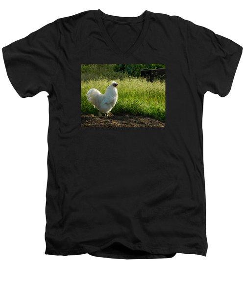 Mister Whitey Men's V-Neck T-Shirt