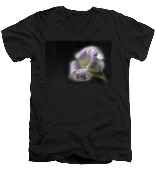 Misty Shamrock 3 Men's V-Neck T-Shirt