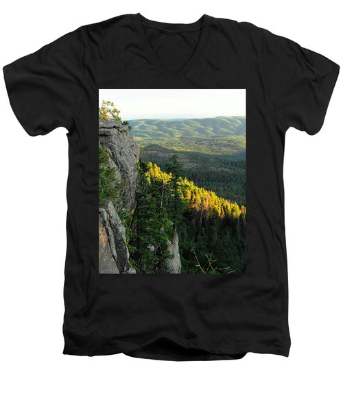 Mogollon Rim Men's V-Neck T-Shirt