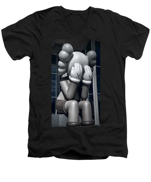 Monday Already? Men's V-Neck T-Shirt