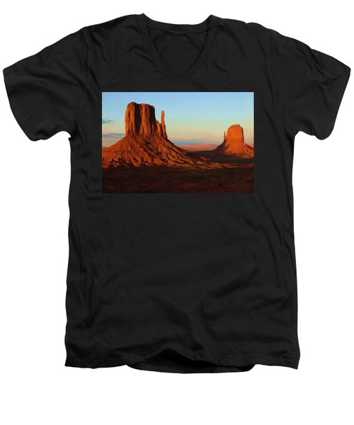 Monument Valley 2 Men's V-Neck T-Shirt