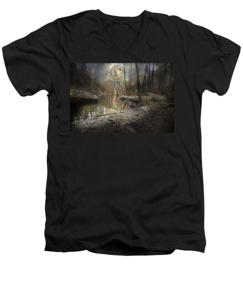 Moon Camp Men's V-Neck T-Shirt